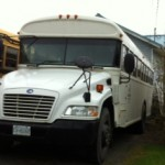 Eagle Transit 24-passenger activity bus with custom seating and extra-large cargo area